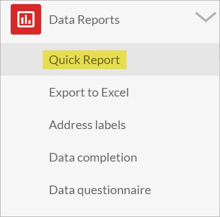Quick Report Tool – MySchool Support